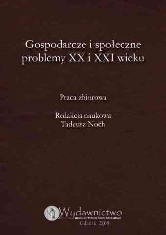 Gospodarcze i społeczne problemy XX i XXI wieku - pierwsza strona okładki